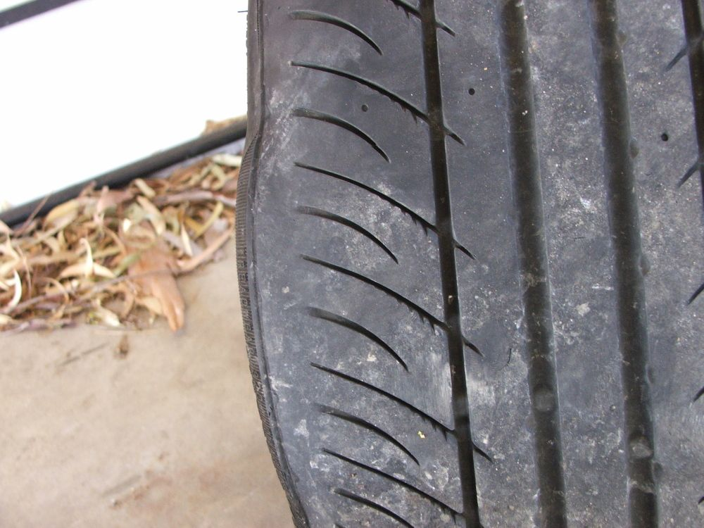 How To Check Tread Depth >> Tyre bulge / pot hole damage - A place for all Ralliart Colt Enthusiasts