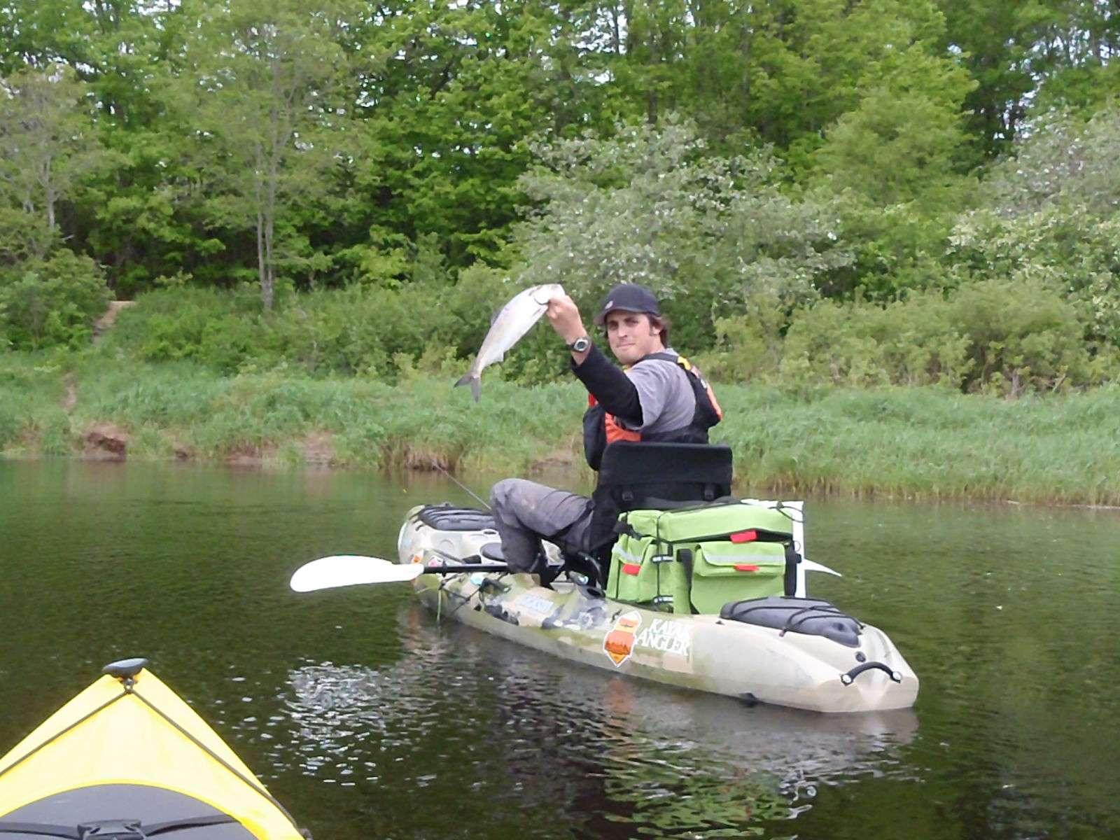 Freshwater fishing john gibson 39 s kayak fishing for Freshwater kayak fishing