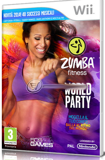 [WII] Zumba Fitness World Party - FULL ITA