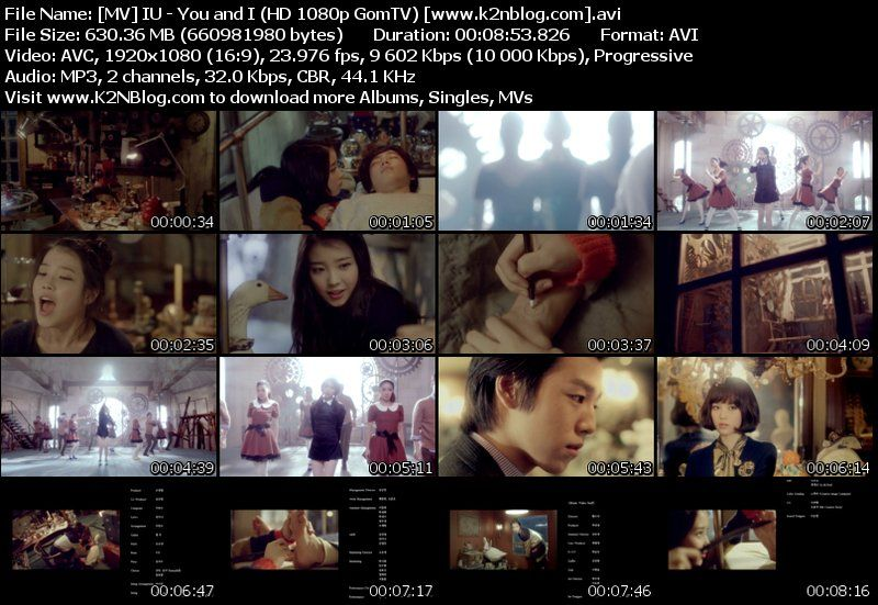 [MV] IU   You and I (Full HD 1080p GomTV)