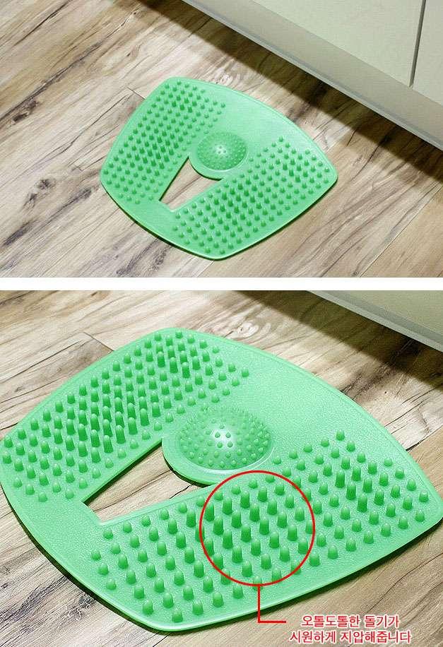 Stimulates Blood Circulation Acupressure Mat Foot