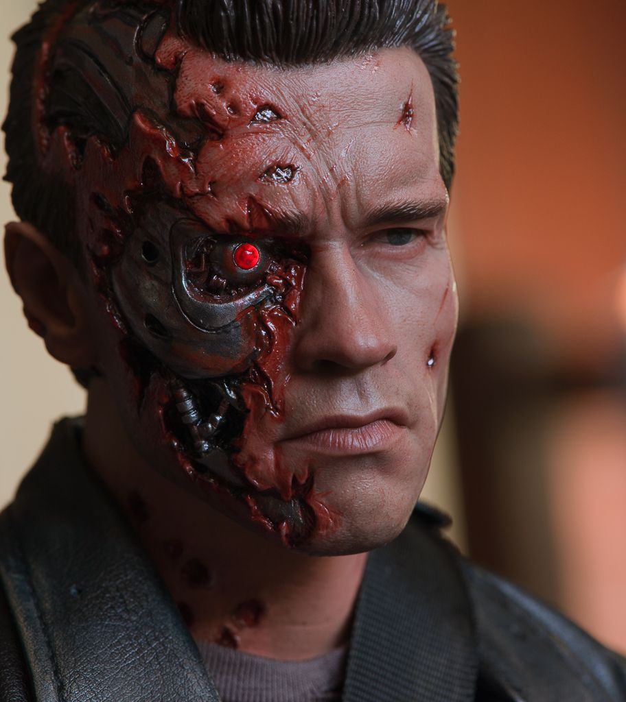 Arnold terminator and faces on pinterest for Terminator face tattoo
